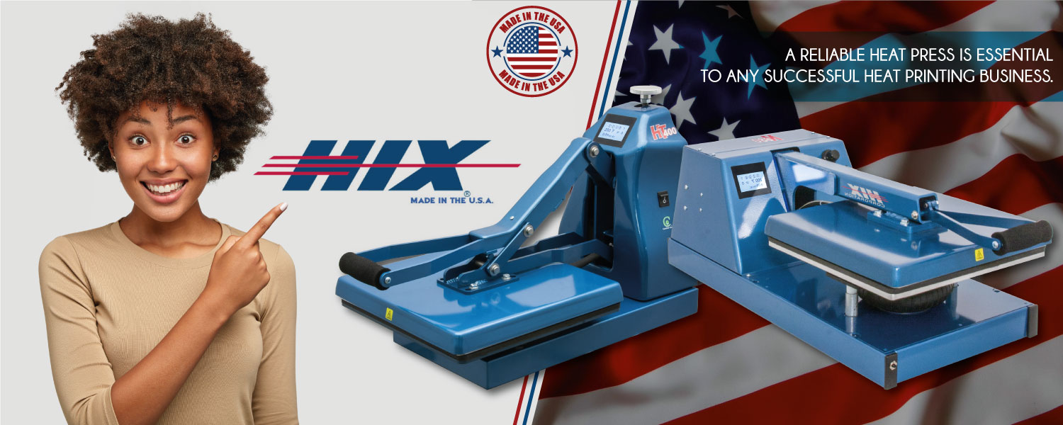 a reliable heat press is essential to any sucessful heat printing business